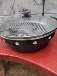 Grill oriental (Alimento sem gordura, sem fumaça e sem sujeira)
