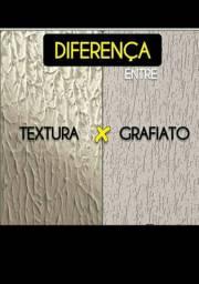 GRAFIATO, TEXTURA, SELADOR, MASSA CORRIDA, TINTA ECONÔMICA  TINTA PARA PISO.