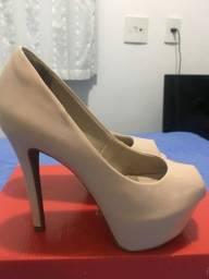 Vendo sapato usado 1 única vez