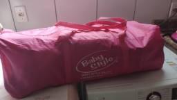 Berço Compacto Baby Style 116810C - Até 18kg - Rosa