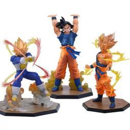 Action Figure Dragon Ball Z  Son Goku Vegeta Saiyajin Genki Dama