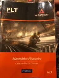 Doação - 2 livros de Adm. e Matemática Financeira