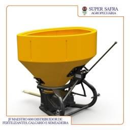 JF Maestro 600 Distribuidores de Fertilizantes, Calcário e Semeadeira