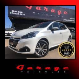 Peugeot 208 Griffe automático 17/17 com apenas 35.000 km - todo revisado na Peugeot