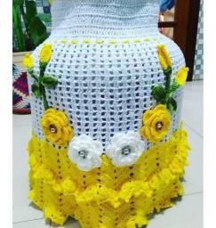 Capa de botijão Crochet 50$
