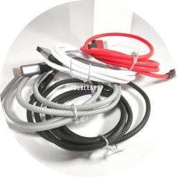 Cabo iphone Lightning, cabo tipo c (type c), cabo micro usb (v8), pronta entrega