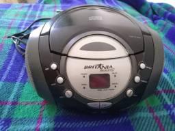 Rádio/CD Player Britânia BS 93 leia a descrição por gentileza