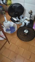 Vendo acessórios para ventiladores