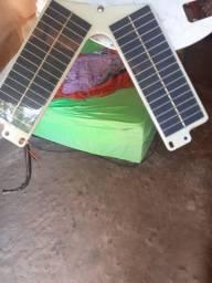 Placa solar em bom conservação