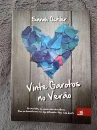 """Livro """"Vinte Garotos no Verão"""" da Sarah Ockler"""