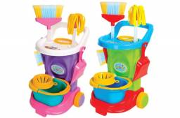 Kit Limpeza Infantil Cleaning Trolley