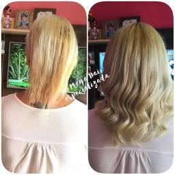 Manutenções em todos os métodos de aplicação com seu cabelo