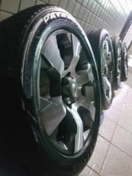 Rodas 20 pneus novos