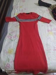 Vestido Pool vermelho