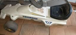 Fórmula Um da Bandeirantes Willians sem as Rodas Traseiras