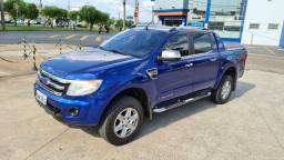 Ford Ranger azul 2014