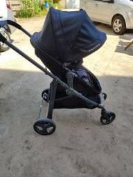 Carrinho 3 em 1 com bebê conforto+Moisés