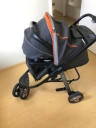 Carrinho de bebe + bebe conforto graco 3 Lite Travel