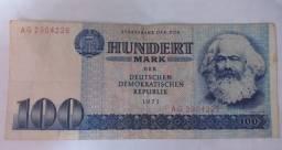 100 Hundert Mark Alemão 1975 (Marco Alemão Oriental)