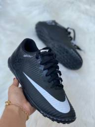 Chuteira Society Nike Black