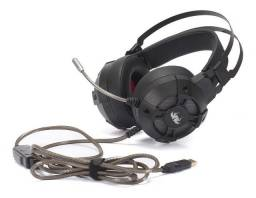 Headset Gamer Extreme Fone de Ouvido Microfone Usb Knup