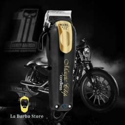 Wahl magic clip gold & black cordless