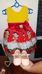 Vendo vestido magali usado 1 vez so