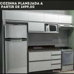 Cozinha planejada completa - Promoção