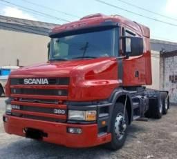 Scania T- 124 360 Renovação de frota
