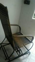 Cadeira de balanço quatro molas