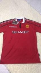 Camisa Retro Manchester united