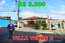 Título do anúncio: Villa Verde II, Casa 3 quartos sendo 2 suítes, Esquina, Semimobiliada