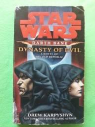 Título do anúncio: star wars: darth bane - dinasty of evil (em inglês)
