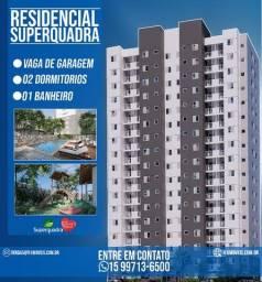 Residencial Superquadra o Mais Novo Lançamento ? Apto 2 dormitórios com sacada  #rm01