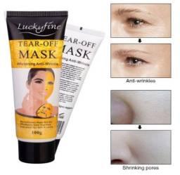 Lucky-Fine Tear-Off Mask Máscara Dourada (Ouro 24) ?100g