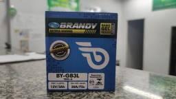Título do anúncio: Bateria Brandy BY-GB3L - Xl 200 / Dt 200 / Tdr 180 / Vespa Px 200