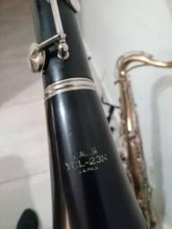 Clarinete Artley 18s Yamaha YCL23N totalmente sapatilhada e revisada por luthier