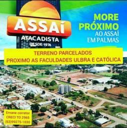 Terrenos parcelados no boleto ao lado faculdade ulbra e Assaí atacadista