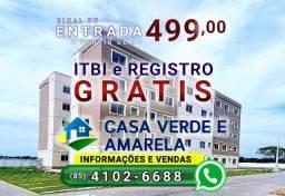 Saia do aluguel, ligue (85) 4102-6688 | Eco Way Eusébio | Casa Verde e Amarela