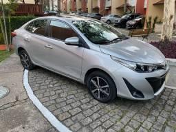 Título do anúncio: Toyota yaris sedan xls com teto solar 2019
