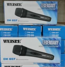 Microfone de fio 3 metros valor 65.00