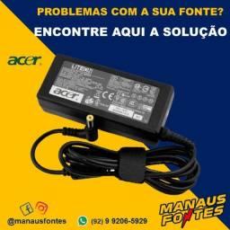 Fonte Carregador Notebook Acer 19V3.42A Ponta Padrão Whatsapp na Descrição