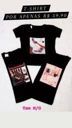 Blusa T-shirt Feminina Promoção