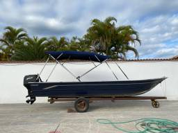 Barco alumínio Petybrazil Miraguaia 600 SL