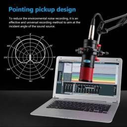 Microfone Profissional Studio Alctron CS Completo Zero Sem Uso.