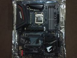 Placa Mae Gigabyte Z370 Aorus Ultra Gaming 2.0 DDR4 Socket LGA1151 Chipset Intel Z370