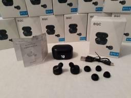 Fone De Ouvido A6 Tws Bluetooth 5.0 Estéreo Sem Fio Preto
