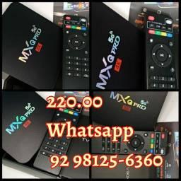 MxQ pro TV box tv bo #220.00 faço entrega