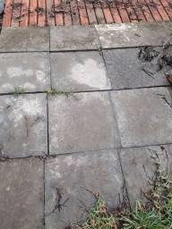 Pedras ardósia para jardim e garagem