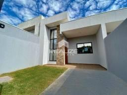 Casa nova de laje no Jardim Ipê com 2 quartos (1 suíte)